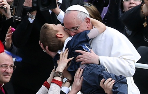 The Embrace of Pope Francis