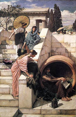 Diogenes in Ancient Athens