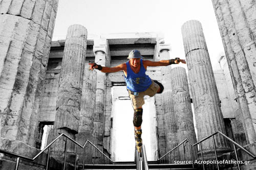 Slomo at the Acropolis