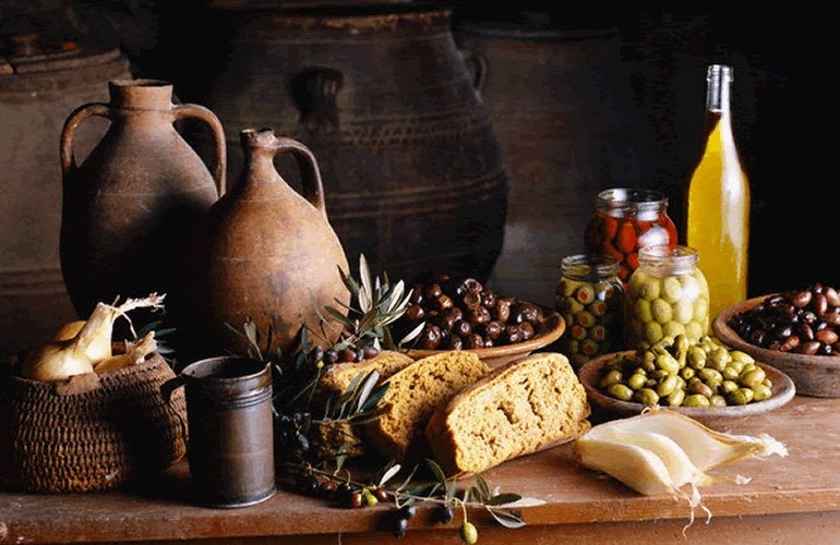 Food in Modern and Ancient Greece